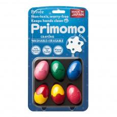 Crayons de couleur effaçables œuf - Set de 6 Multicolore