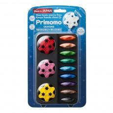Crayons de couleur effaçables fleur - Set de 12 Multicolore