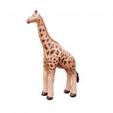 Girafe gonflable géante 92 cm Beige