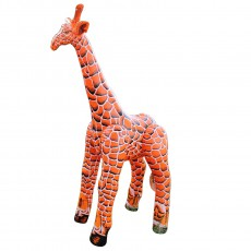 Girafe géante gonflable 152 cm Orange