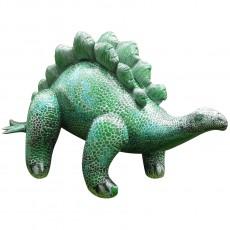 Dinosaure Stegosaure gonflable géant 117 cm Vert
