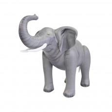 Eléphant géant gonflable 61 cm Gris