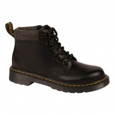 Boots Cuir Zippées Padley Noir