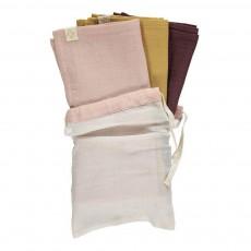 Langes en gaze de coton - Set de 3 Multicolore