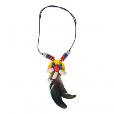 Collier d'indienne Multicolore