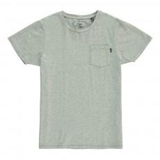 T-shirt Poche Gris