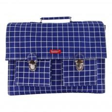 Cartable Big Bretelles Carreaux Kotak Bleu