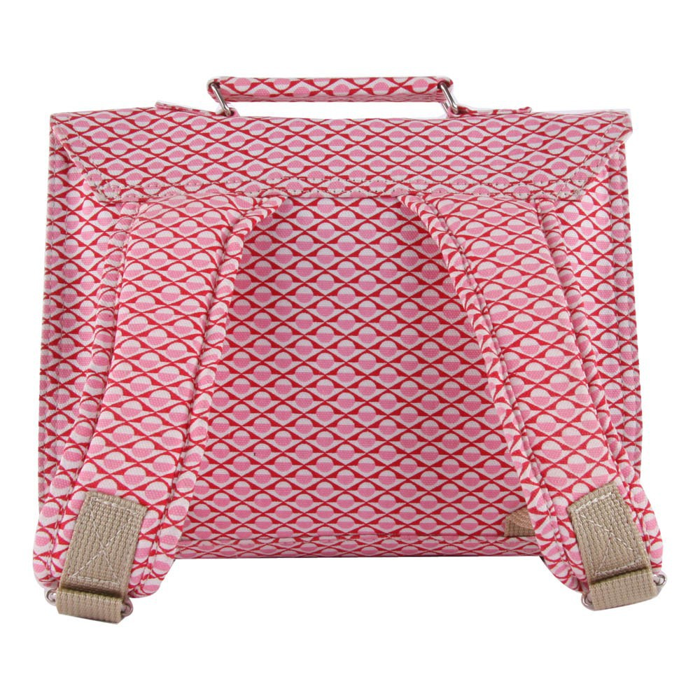 Cartable mini bretelles canvas chin rose bakker made with - Bakker made with love cartable ...
