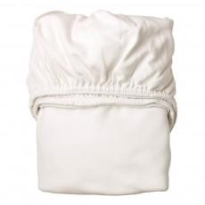 Draps-housses 60x120 cm - Set de 2 Blanc
