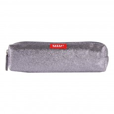 Trousse Glitter Canvas Gris foncé