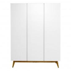 Armoire 3 portes Trendy Blanc