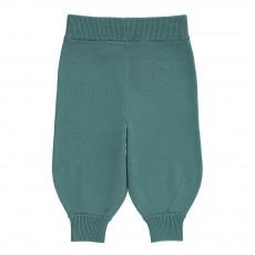 Pantalon Laine Vert canard