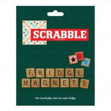 Aimants Scrabble en bois - Set de 112 Naturel