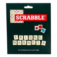Aimants Scrabble blanc - Set de 112 Blanc