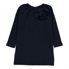 Robe Nœuds Bleu marine