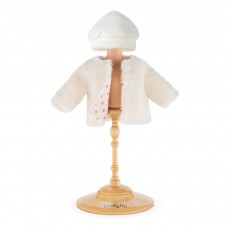 Mon Classique - Manteau réversible Trésor des Neiges 36 cm Blanc