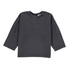 Sweat Col Rond Gris anthracite