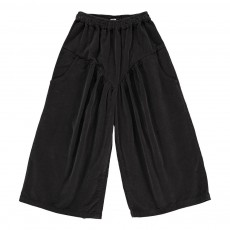 Jupe Culotte Velours Gris anthracite