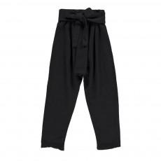 Pantalon Saroeul Nœud Noir