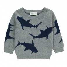 Pull Requins Gris