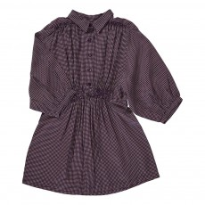 Robe Carreaux Moonstone Violet