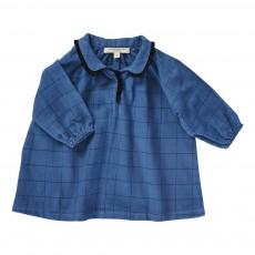 Robe Carreaux Verdite Bébé Bleu