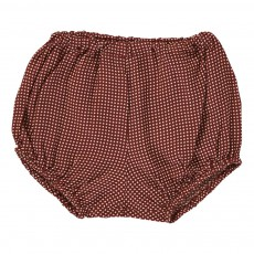 Bloomer Petits Carreaux Ruby Rouge