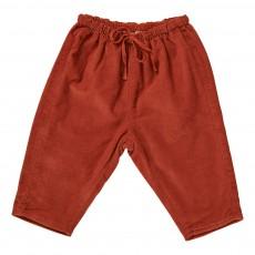 Pantalon Velours Carnelian Bébé Rouille