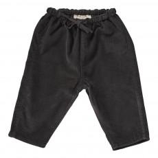 Pantalon Velours Carnelian Bébé Gris foncé