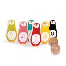 Jeu de quilles Pingouins Multicolore