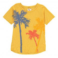 T-shirt Trois Palms Jaune moutarde