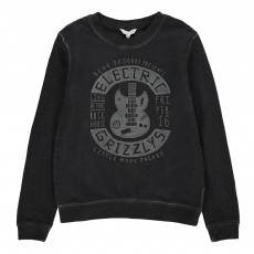 Sweat Guitare Electrique Gris anthracite