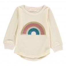 T-Shirt Arc-En-Ciel Ecru