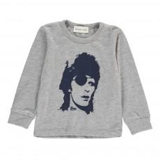 T-Shirt Bowie Gris chiné