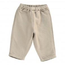 Pantalon Gaufré Futurb Gris taupe