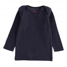 T-Shirt Brassière Bleu marine