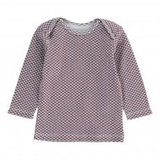 T-Shirt Brassière Bicolore Bordeaux