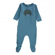 Pyjama Hérisson Bleu gris