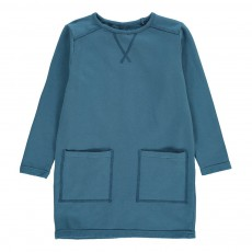 Robe Sweat Bleu gris