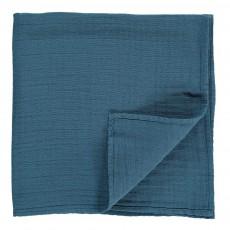 Lange Gauffré Bleu gris