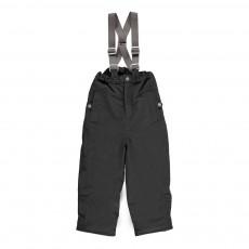 Pantalon de Ski à Bretelles Panto Gris anthracite