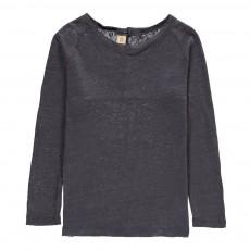 T-Shirt Lin Mogani Gris foncé