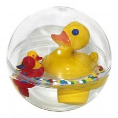 Bulle pour le bain maman canard Jaune