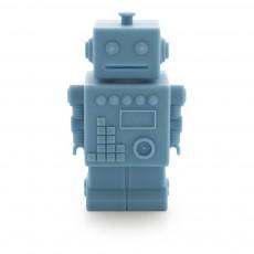 Tirelire Robot Robert Bleu