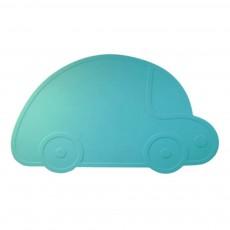 Set de table voiture Bleu turquoise