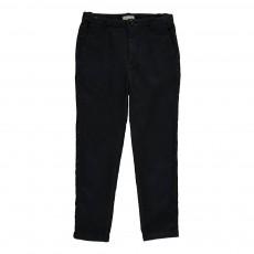 Pantalon Molleton Slim Lalia Bleu marine