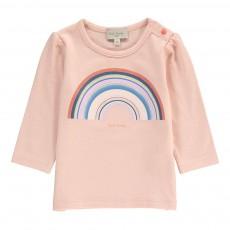 T-shirt Arc-en-Ciel Malvina Rose pâle