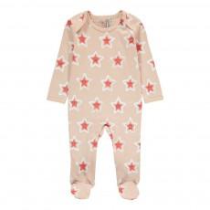 Pyjama Etoiles Rufus Rose pâle