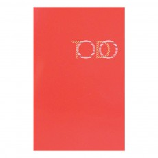 Bloc To do list Vernis rouge 30 feuilles Rouge