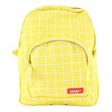Sac à dos Mini Canvas Carreaux Kotak Jaune